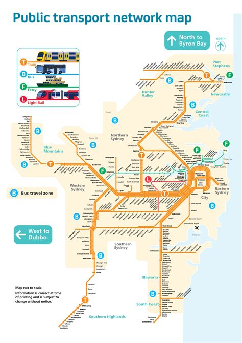 transport map official map transport network map of