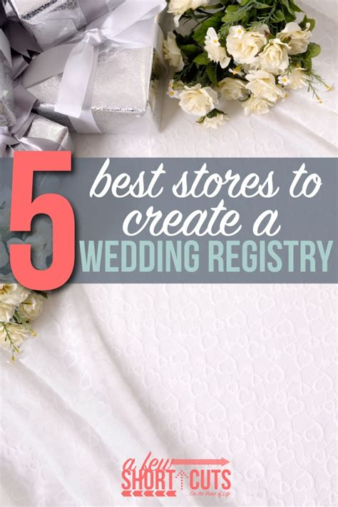 Wedding Registry Stores by 5 Best Stores To Create A Wedding Registry A Few Shortcuts