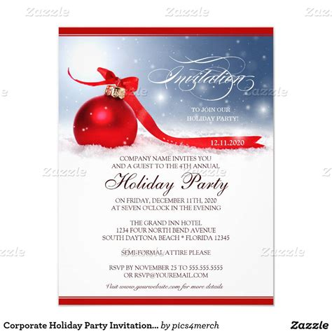 christmas invite wording for the office template invitation template invitations templates