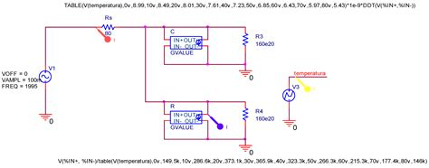 voltage controlled resistor orcad variable capacitor in orcad 28 images simple electronic piano using 555 timer organ circuit