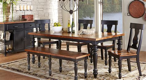 black dining room set with bench dining room marvellous dining room sets with benches