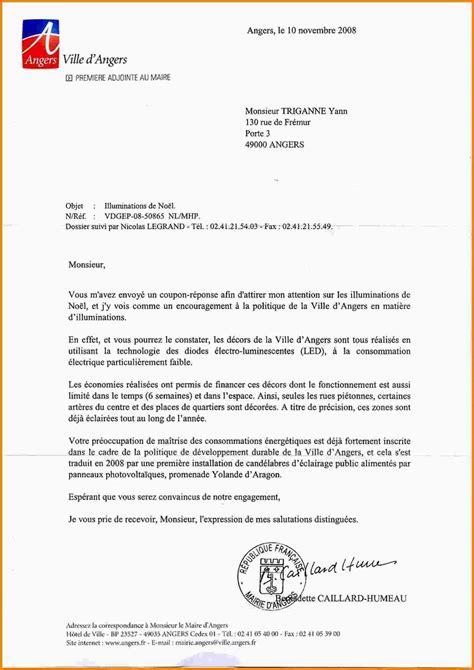 Exemple Lettre De Remerciement Au Maire Rtf Exemple Lettre Au Maire