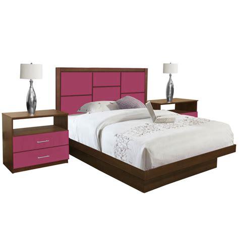 4 piece queen bedroom set uptown queen size platform bedroom set 4 piece contempo