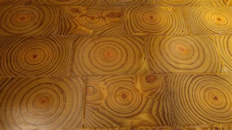 Hometalk   I Made an End Grain Wood Floor From Scratch and