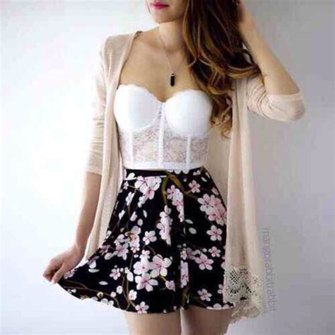 cute floral skirt outfits for teens radical s blog on roleplay me