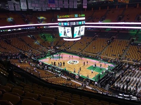 section 8 boston td garden section bal 328 row 8 seat 8 boston celtics vs
