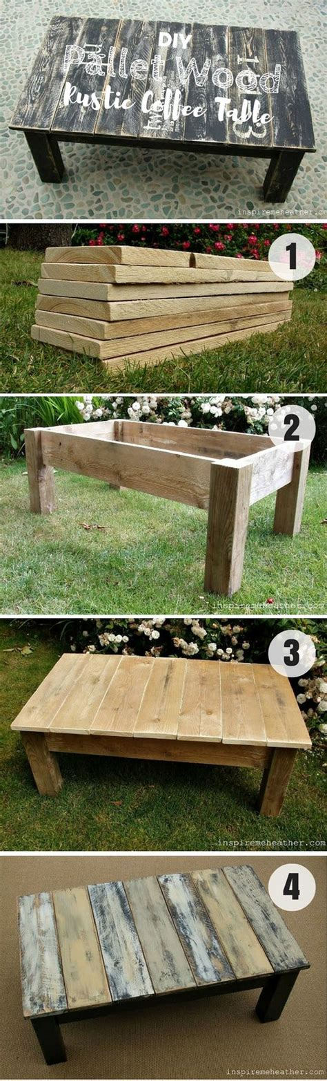 Easy Pallet Coffee Table 10 Easy Diy Coffee Tables You Can Actually Build Yourself