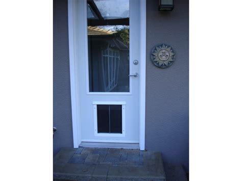 Cat Doors For Glass Doors Installations And Pics Doors Cat Doors Pet Doors