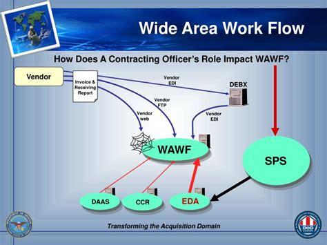 wide area workflow ppt wide area workflow wawf powerpoint presentation