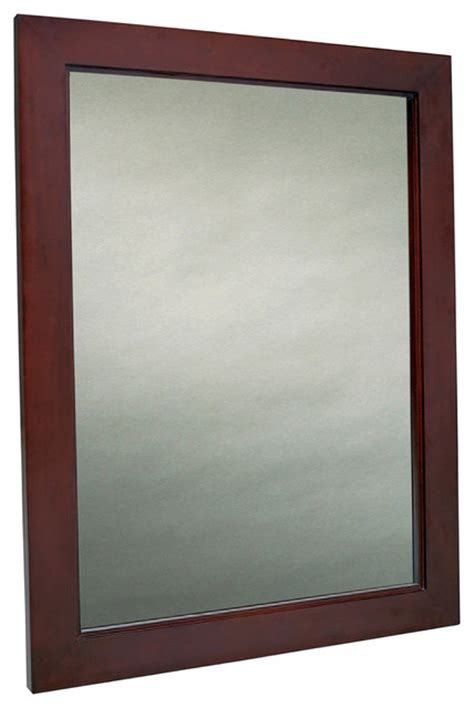 Bathroom Mirrors San Diego Mahogany Bathroom Mirror Traditional Bathroom Mirrors San Diego By Bathgems