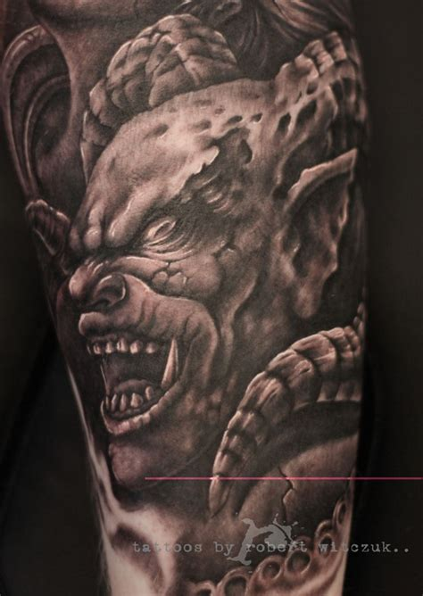 demon ink tattoo 21 best black and gray designs images on
