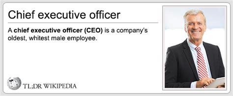 chief executive officer cracks