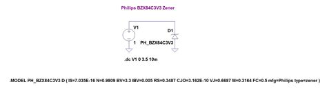 zener diode ltspice model zener diodes in ltspice page 1