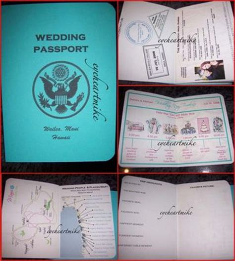 save the date passport template passport save the date follow up weddingbee