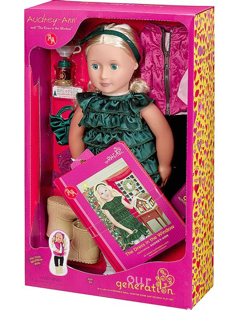 46cm fashion doll our generation 46cm doll with book and 3
