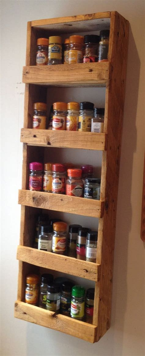 Super Easy Spice Rack Cross Slats Could Be Positioned To Spice Racks For Bookshelves
