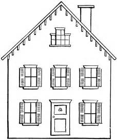 drawing house drawing a house 2 clipart etc