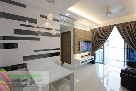 Home Interior Design And Renovation Beautifully Renovated Executive Condominium By Behome