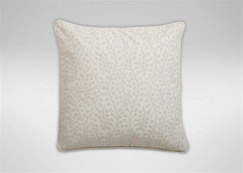 Crewel Pillows by Crewel Embroidered Branch Pillow Ivory Pillows