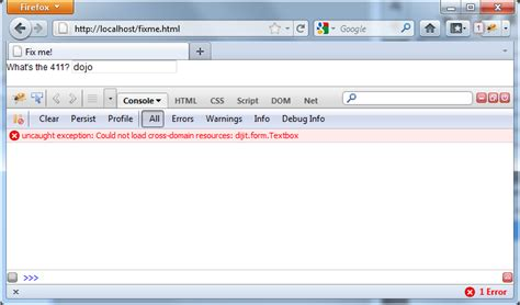 firebug console debugging tutorial the toolkit reference guide