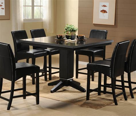 the elegance mystery of black dining room sets