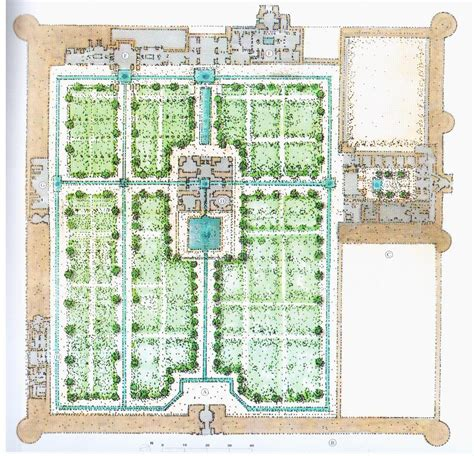 garten grundriss der fin garten in kashan architecture and thinking