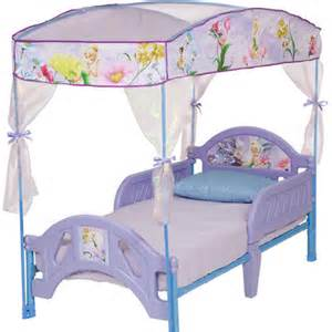 Delta Tinkerbell Toddler Bed Delta Children Disney Fairies Toddler Bed With Canopy