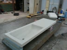 Quartz Vanity Tops With Integrated Sink Concrete Countertop With Integrated Sink Contemporary