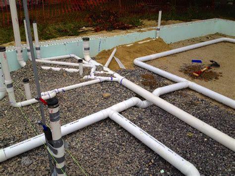 Slab Plumbing In by Sub Slab Plumbing Ri 363 House