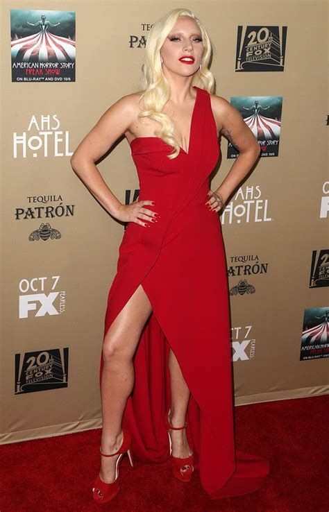 lady gaga red dress lady gaga red jimmy choo heels images simply accessories