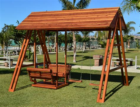 swing set roof jean s ultimate swing set forever redwood