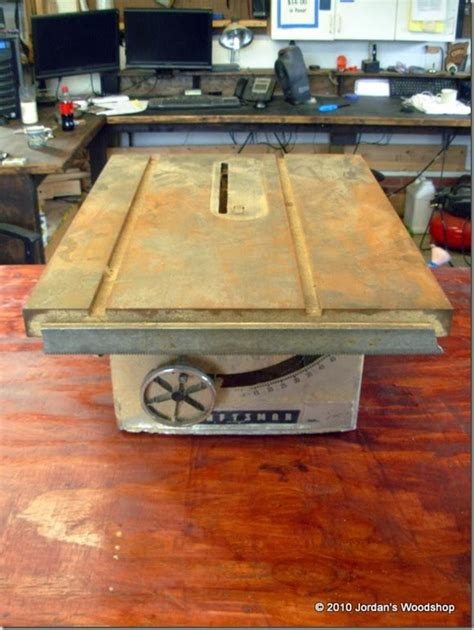 Jordan Life Restoring My Grandfather S Craftsman Table Saw