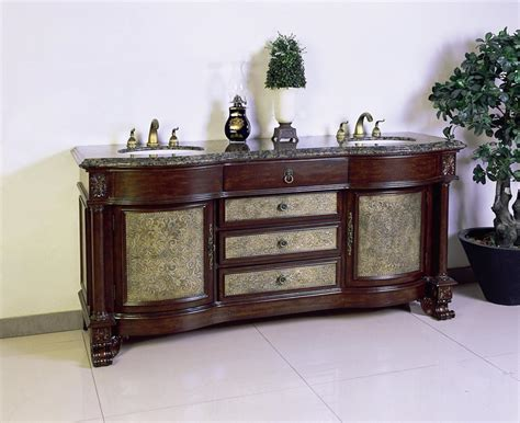 antique bathroom sinks and vanities legion lf64c dark cherry antique double vanity with a