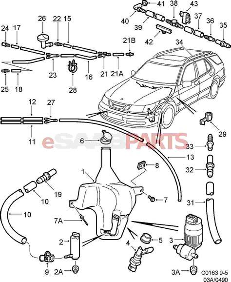 saab 9 5 wiper wiring diagram wiring diagram with