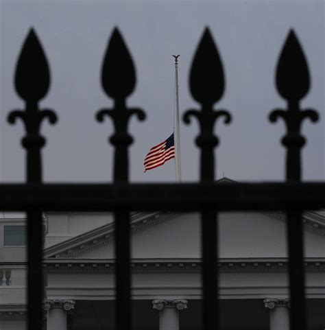 white house flag half staff suspect in arizona shooting held without bail minnesota public radio news