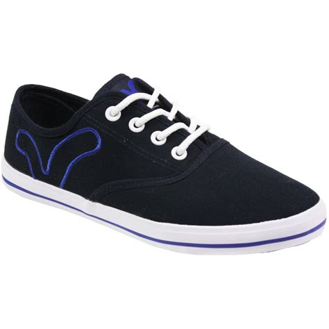 boys flat shoes boys voi fiery flat plimsolls pumps