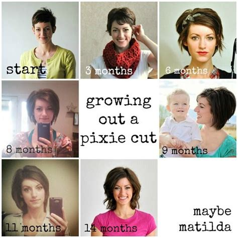 how to style a grown out asymettrical tips for growing out a pixie cut shorthair my style