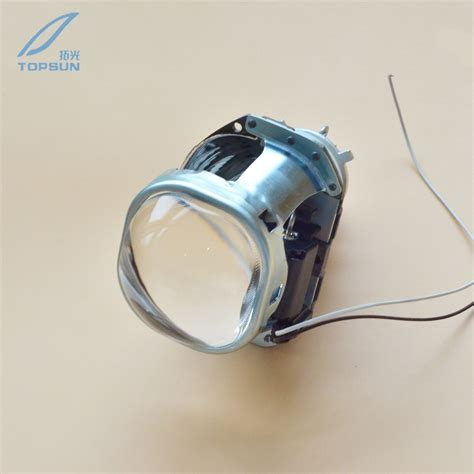 Projector Fxr 3 0 3 0 q5 halo hid bi xenon square lens projector headlight headl lenses h1 h4 h7