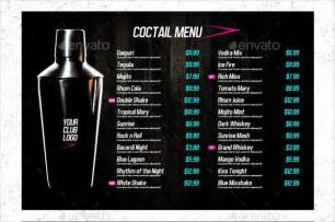 drink menu template free doc 590392 free drink menu template 20 drink menu