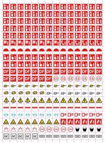 symboles plan 233 vacuation mod 232 le 1fonds de plan et