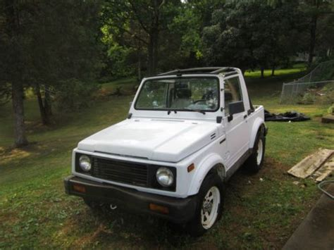 find used suzuki samurai 1987 4x4 2 door in lynchburg