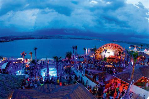 zrce beach festivals apartments  novalja