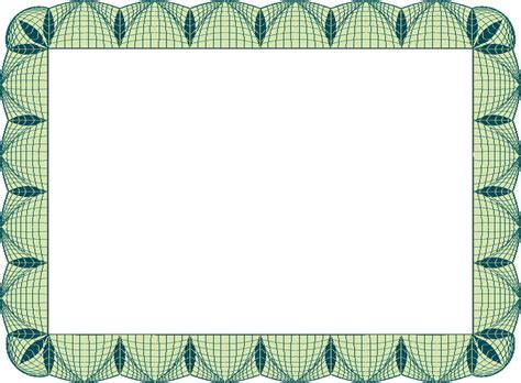 free certificate border templates for word certificate border template clipart best
