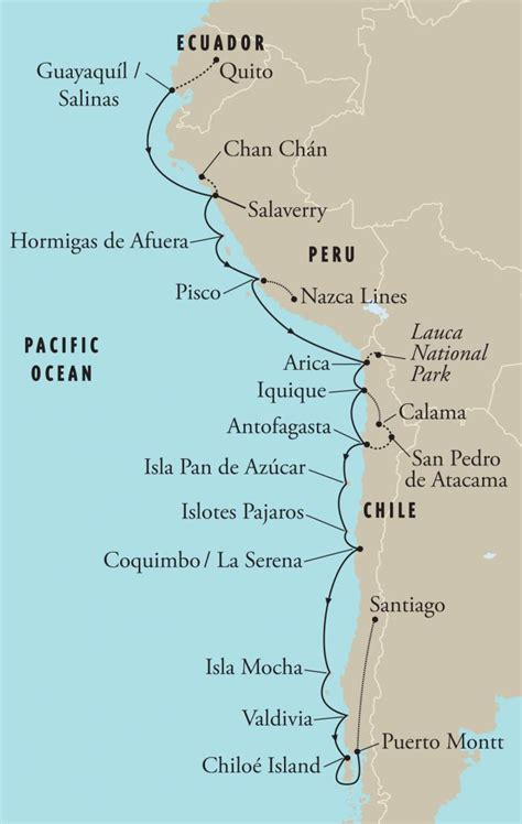 map of west coast of america west coast of south america ecuador peru chile south