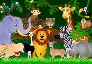 Barn Prints Dyrene I Afrika