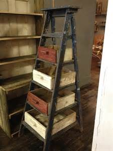 Rustic Ladder Decor 1000 Ideas About Old Ladder Decor On Pinterest Old