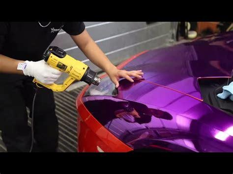 KSI's Purple Lamborghini Wrapped   Pt 1   YouTube