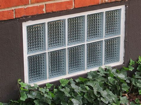 basement security glass block basement windows in st louis