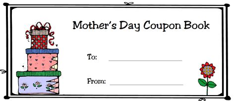 printable mother s day coupon book template giveaway lady something special for mother s day