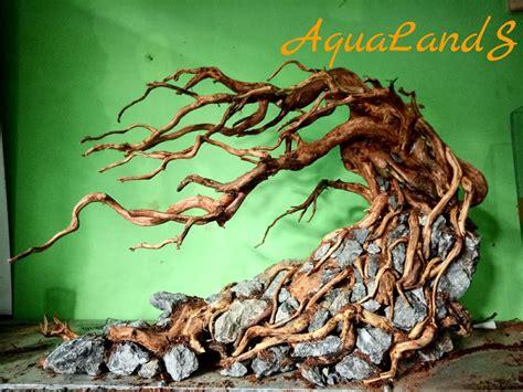 jual hardscape akar kayu rasamala  aquascape  lapak